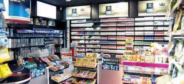Tea Livs - butiken med då låga priserna på cigaretter, snus och tobak